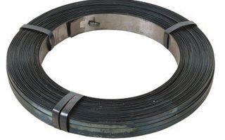 Металлическая упаковочная стальная лента