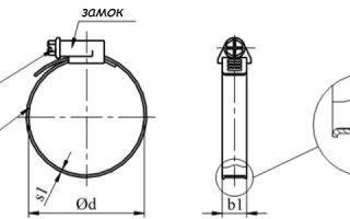 Особенности конструкции металлических червячных хомутов