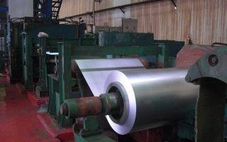 Лист стальной холоднокатаный: технология производства