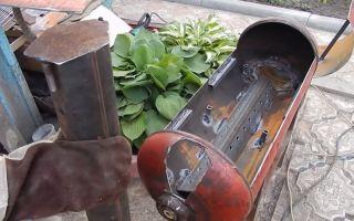 Как самостоятельно сделать мангал из газового баллона