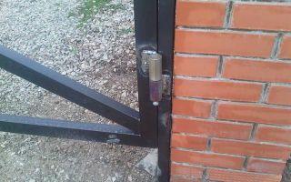 Навесы на ворота и калитку: как правильно приварить