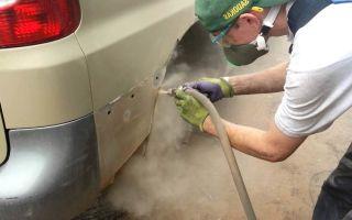 Цинкование кузова легкового автомобиля в домашних условиях
