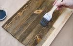 Браширование древесины: состаривание дерева своими руками