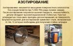 Азотирование стали: описание и особенности процедуры