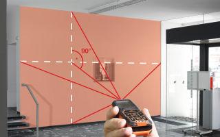 Как выбрать строительный лазерный дальномер