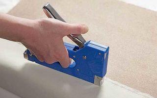 Мебельный степлер: как пользоваться и как правильно выбрать