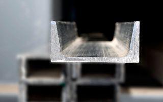 Описание и особенности п-образного алюминиевого профиля