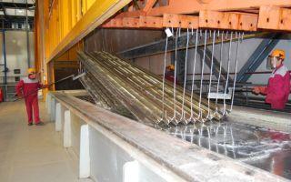 Горячее цинкование металлоконструкций: технология оцинковки