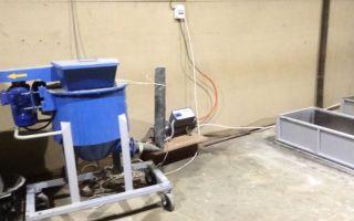 Оборудование для производства пеноблоковых плит