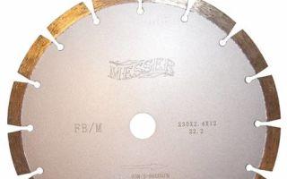 Алмазный диск для болгарки по бетону и железобетону