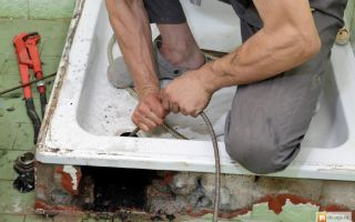Методы самостоятельной промывки труб канализации