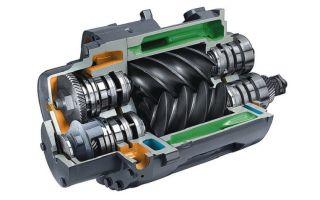 Винтовой компрессор: виды, достоинства и недостатки